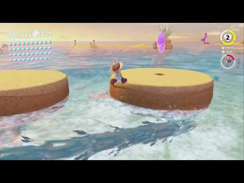 Taking Notes: Ocean Surface Dash ~ Seaside Kingdom ~ Super Mario Odyssey - No Commentary