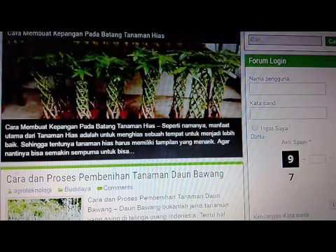 Agroteknologi Web Forum Dan Komunitas Pertanian Indonesia