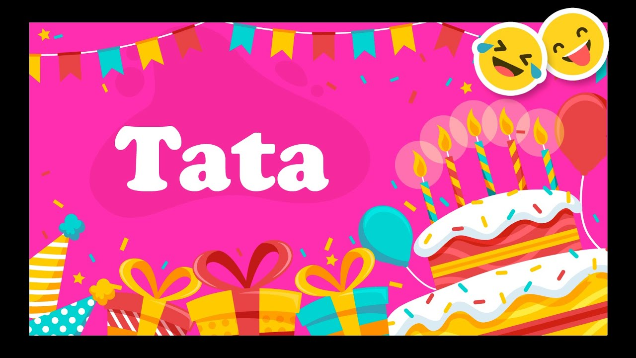 Joyeux Anniversaire Tata Happy Birthday Youtube