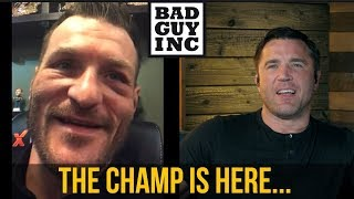 UFC Champion, Stipe Miocic...
