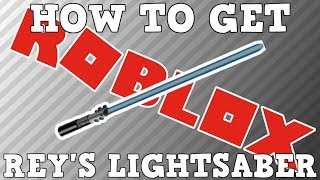 How to Get Rey's Lightsaber | Roblox Field of Battle Space Battle 2017 Event