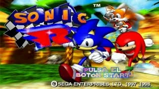 Sonic R gameplay (PC Game, 1997)