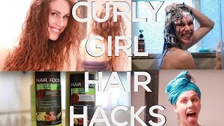 11 Curly Girl Hair Hacks You Need To Know! ...