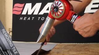 The Master Heat Gun   Best heat gun for paint stripping  packaging  dent removal   heat shrink
