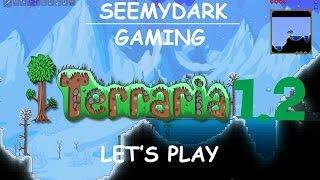 Terraria 1.2 | Let's play en coop épisode 3 | Le biome glace | L'homme parapluie [FR]