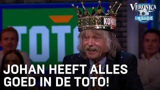 Een historisch moment bij Veronica Inside: Johan heeft alles goed in de Toto! Bekijk alle hoogtepunten van Veronica Inside op https://veronicainside.nl/ of in de ...