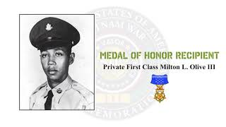 Medal of Honor Recipient Private First Class Milton L. Olive III