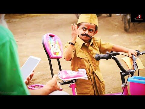 छोटू दादा पोस्टमैन    CHOTU DADA POSTMAN   Khandesh Hindi Comedy   Chotu Comedy Video