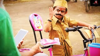 छोटू दादा पोस्टमैन  | CHOTU DADA POSTMAN | Khandesh Hindi Comedy | Chotu Comedy Video