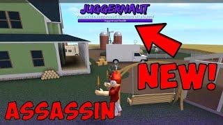 NEW JUGGERNAUT GAME MODE! (Roblox Assassin)