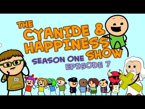 The Elusive Mr Wimbley - S1E7 - Cyanide & Happiness Show - INTERNATIONAL RELEASE