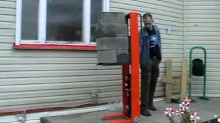 ТР Самоход. Подъем груза 210кг (7 блоков по 30кг)(, 2009-11-12T12:31:16.000Z)