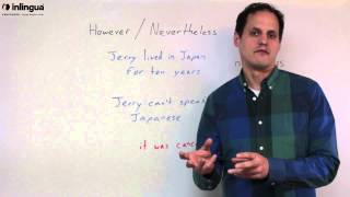 However and Nevertheless - English Lessons with inlingua Vancouver