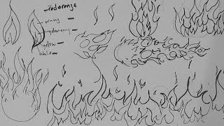 Pen and Ink Drawing Tutorials | How to draw fire, flames, and fireballs(This tutorial provides some tips on how to draw fire using variations of the line of balance. You can apply this to drawing a variety of different forms and subjects., 2013-11-02T23:22:29.000Z)