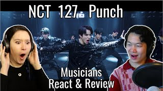 Cover images NCT 127 'Punch' Reaction & Review