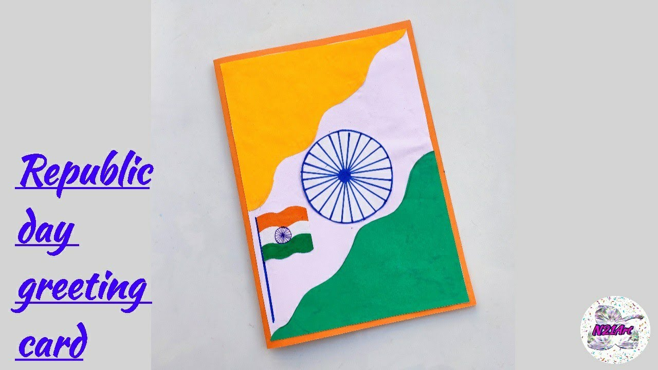 republic day  independence day card making  diy republic