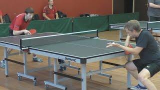 Вадим БАРЫШНИКОВ vs Дмитрий БОБРОВ, Турнир КМС-Open, Настольный теннис, Table Tennis