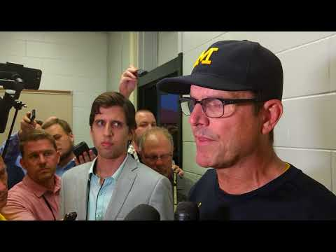 Jim Harbaugh post Purdue