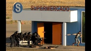 Simulacro XXIV Jornadas Municipales Catástrofes SAMUR-PC Madrid 2017