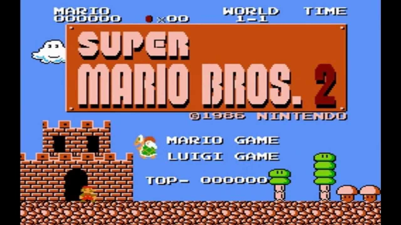 Super Mario Bros 2 Japan The Lost Levels Comparison Famicom