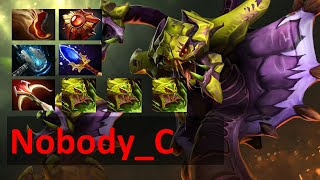 Dota 2 Ranked Matchmaking -Nobody_C [ Is This Venomancer Support? ]