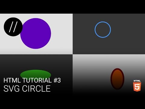 HTML Tutorial #3 — SVG Circle [UP/TO/DATE]