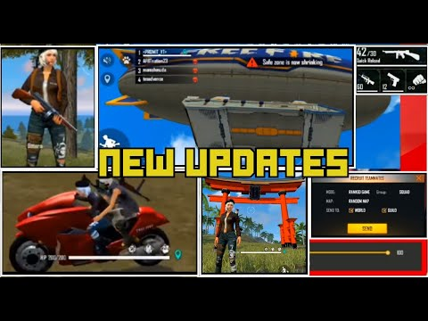 "New Events New ""Thompson Gun"" In Ob21 Update - Garena Free Fire"
