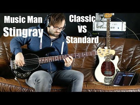 Music Man Stingray 4 Bass | Classic VS Standard | AngelDust Guitars Review