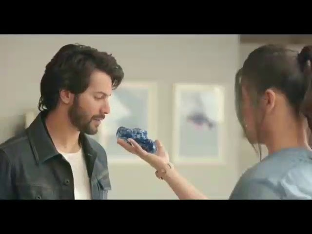 Varun Dhawan & Shruti Hassan Fossil Watches AD #1