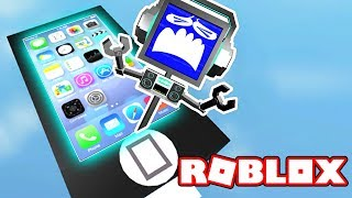 ESCAPE FROM THE IPHONE OBBY! (in Roblox) ► Fandroid GAME