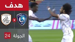 بالفيديو.. عبدالمجيد الصليهيم يُحرز هدف تعادل الشباب أمام الهلال