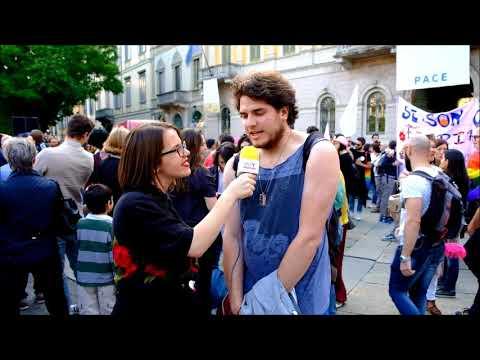Il popolo del Bergamo Pride