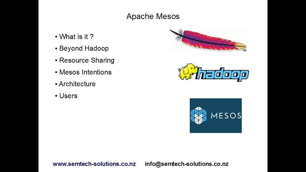 Apache Mesos An Introduction To Apache Mesos Youtube