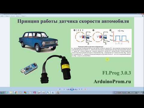 Принцип работы датчика скорости автомобиля