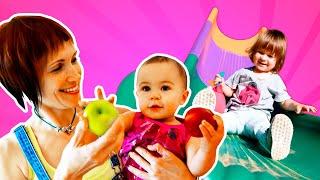 Привет Бьянка   Маша Капуки на детской площадке   Видео для девочек