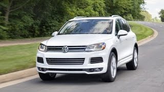 Real World Test Drive Volkswagen Touareg 2014