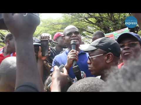 L'opposition dans les rues de Cotonou: Extraits des déclarations de quelques leaders politiques