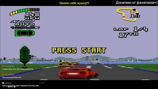 Top Gear 2 ► Sega Mega Drive ► РЕТРОстрим