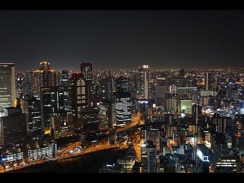 JAPAN! Osaka: Umeda Sky Building + Okonomiyaki