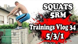 Squats 5RM - Starke Beine und explosive Sprungkraft mit Kniebeugen