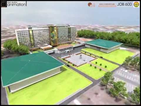 JOB 600, Parliament of Ghana office block animation