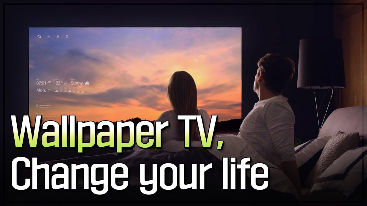 LG Display _ Wallpaper TV, Change your