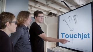 Touchjet WAVE Collaborative Touchscreen Solution