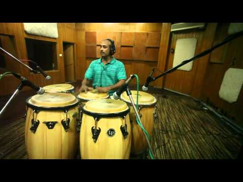 Congo drums  - Indian player !