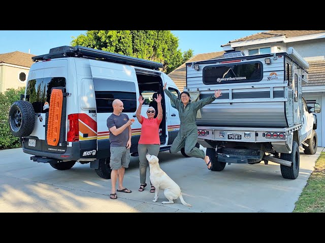3 Adults, 1 Dog, 10 Weeks in Less than 100 SQ FT | Summer with Mom Van Life Road Trip Episode 1