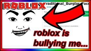 i asked roblox to stop making bad faces... then THIS was made...