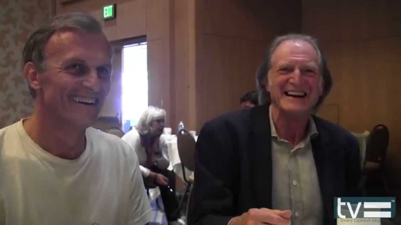 Photo of David Bradley & his friend  Richard Sammel