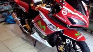 new vixion full fairing modified by mr. c