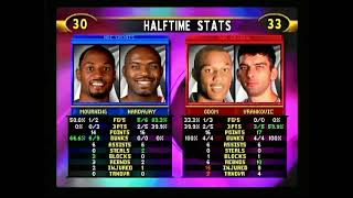 NBA Showtime (N64) - Game 1