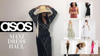 ASOS | MAXI DRESS TRY ON HAUL | SUMMER READY | MAY 2020